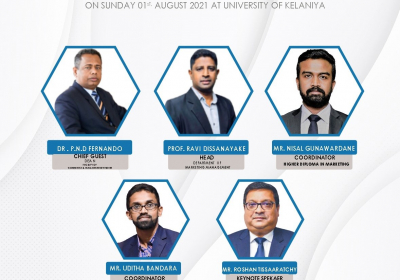 The inaugural Ceremony of the Higher Diploma in Marketing 2021
