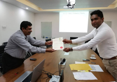 Facilitating SMEs through DMM, University of Kelaniya