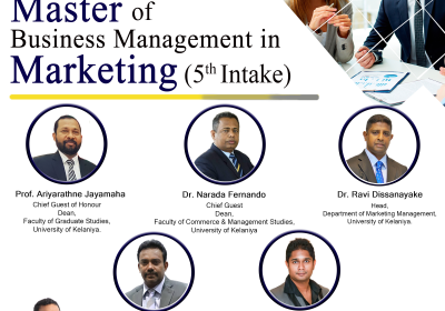 The Inaugural Ceremony – MBM in Marketing (5th Intake)