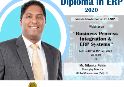Webinar on Business Process Integration & ERP Systems