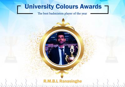 The Best Badminton Player of the Year - Bhagya Ranasinghe
