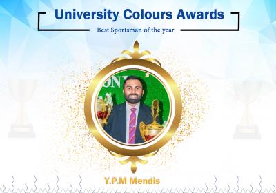 Best Sportsman of the year 2019 - Prameda Mendis
