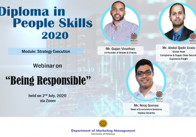 "A Webinar on ""Being Responsible"""