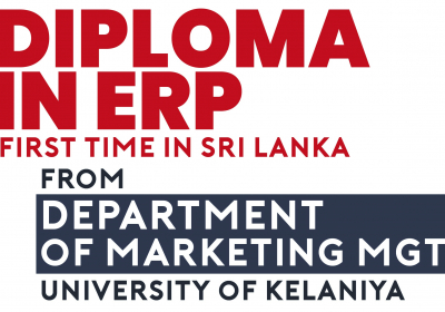 First Diploma in ERP of the Country -Another giant leap by the University of Kelaniya