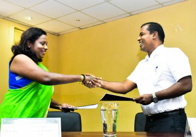 MoU signed between Department of Marketing Management of the University of Kelaniya and Nestlé Lanka Plc