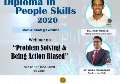 Problem Solving & Being Action Biased